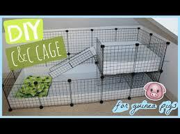 diy c c guinea pig cage