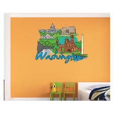 Famous City Vinyl Wall Decal Famouscityuscolor044 Contemporary Wall Decals By Vinyl Disorder Inc