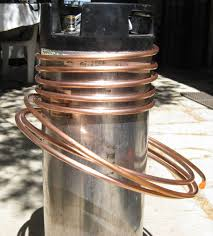 how to make an immersion wort chiller