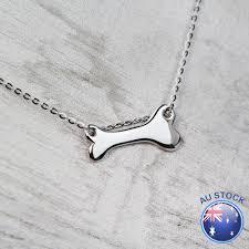 lovely solid dog bone pendant charm