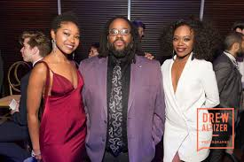 Adriana Mitchell with Jacob Ming-Trent and Akilah Walker