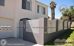 Compound Wall Design Ideas Best Kerala Style Wall Plans Elevations