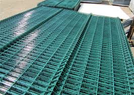 Powder Or Pvc Coated Galvanized Welded Wire Mesh Fence Curved 3d Welded Wire Fence