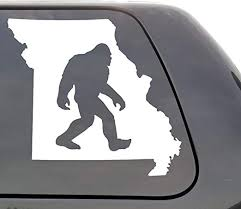 Handmade Products Missouri Home Decal For Car White Vinyl Decals