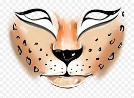 tiger face paint png png