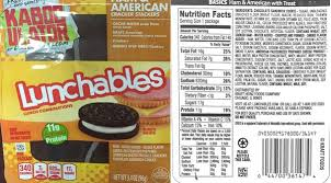 lunchables recalled in california