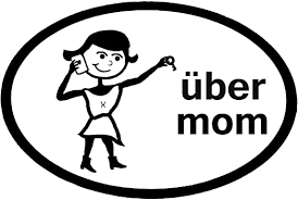 Amazon Com Uber Mom Vinyl Sticker 3 X 4