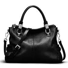 black leather handbag com