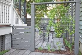 Privacy Screen Design Ideas Pictures Remodel And Decor Modern Landscaping Backyard Garden Privacy