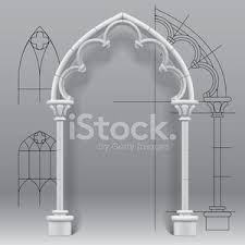 Gothic Arch Vector Images And Illustration