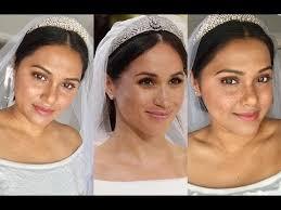 meghan markle inspired wedding makeup