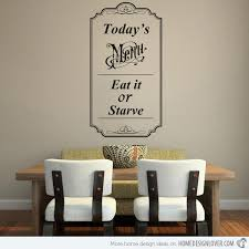 15 Awesome Dining Room Wall Decals House Decorators Collection