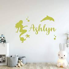Trule Custom Mermaid Wall Decal Wayfair