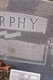 Ava Holmes Murphy (1920-2000) - Find A Grave Memorial