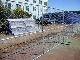 Temporary Chain Link Fence Effective For Maintain Workplace Safety