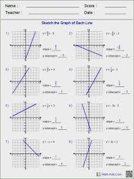 each equation worksheet answer key