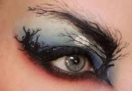 haloween night eye makeup pictures