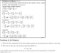 solved fluid dynamics problem 3a 3b