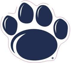 Amazon Com 2 1 2 Inch Penn State 4 Toes Paw Logo Decal Flag Nittany Lions Pennsylvania University Psu Removable Repositionable Peel Self Stick Wall Sticker Art Ncaa Home Room Decor 2 1 2 By 2 1 4 Inches Baby