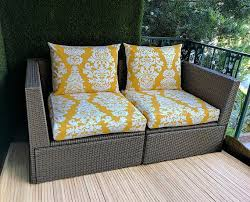ikea outdoor slip cover yellow fl
