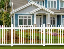 Wambam No Dig Bl19101 Nantucket Picket Vinyl Fence White Amazon Ca Patio Lawn Garden