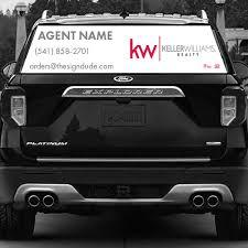 Keller Williams Realty Superior Vehicle Rear Window Graphics