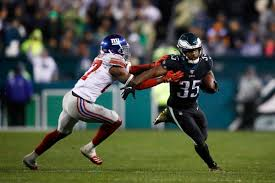 Eagles running back Boston Scott ...