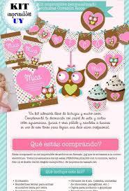 Kit Imprimible Lechuzas Candybar Invitacion Cumpleanos 123 508