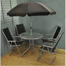 garden patio furniture set with folding
