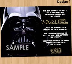 Star Wars Birthday Invitations Template New Birthday Card