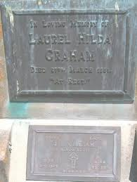 Gisborne District Council - Cemetery Database - Laurel Hilda Graham
