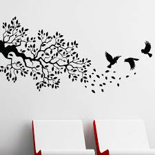 Trule Birds And Branch Wall Decal Reviews Wayfair