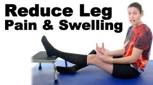 easy ways to reduce leg pain swelling