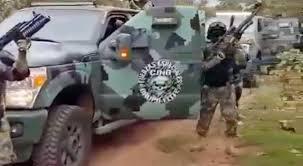 El Cartel de Jalisco difunde video de su armamento