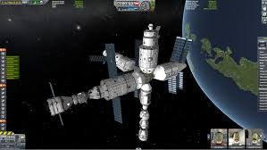 The MIR Space Station : KerbalSpaceProgram