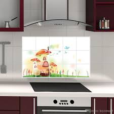 Removable Defence Oil Sticker Kitchen Wall Tile Stickers Waterproof Wall Stickers Wallpaper Self Adhesive Home Decor Accessories Wall Decal Flower Wall Decals Flower Wall Sticker From Hayoumart6 2 25 Dhgate Com