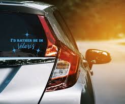 I D Rather Be In Velaris Vinyl Decal A Court Of Thorns And Roses Car Window Sticker Acotr Decals In 2020 Car Window Stickers Vinyl Decals Car Window