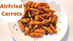 Air fryer baby carrots recipe from scratch / Easy and healthy ...