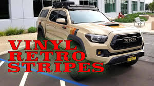 My Most Popular Mod Retro Vinyl Decals Stripes Done At Socal Exotic Wraps Youtube