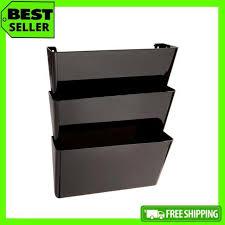 6 pocket hanging wall file folder