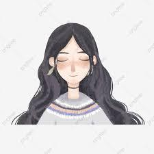 شعر شعر البنات طالبة أنثى تسريحه شعر Png صورة للتحميل مجانا