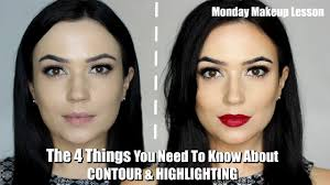 contour and highlight for beginners