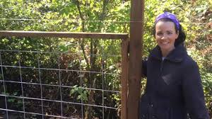 Diy Tutorial On How To Make A Hog Wire Or Utility Panel Fence Using A Dado Youtube