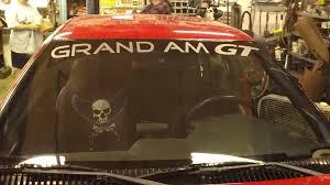 Grand Am Gt Windshield Decal Baner Vinyl Sticker Pontiac
