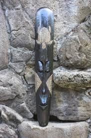 turtle tiki mask with shell inlay
