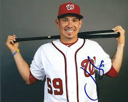 Autographed Jose Lobaton 8x10 Washington Nationals Photo at ...