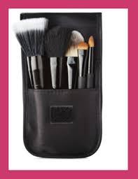 beauty muse 5 pc leopard makeup brush