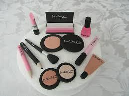 edible mac makeup cake topper s