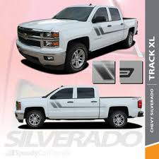 Chevy Silverado Upper Body Vinyl Graphics Champ 2013 2018 Premium And Supreme Install Speedycardecals Fast Car Decals Auto Decals Auto Stripes Vehicle Specific Graphics
