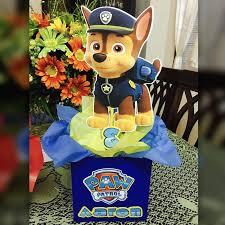Paw Patrol Centros De Mesa De La Patrulla Canina Manualidades